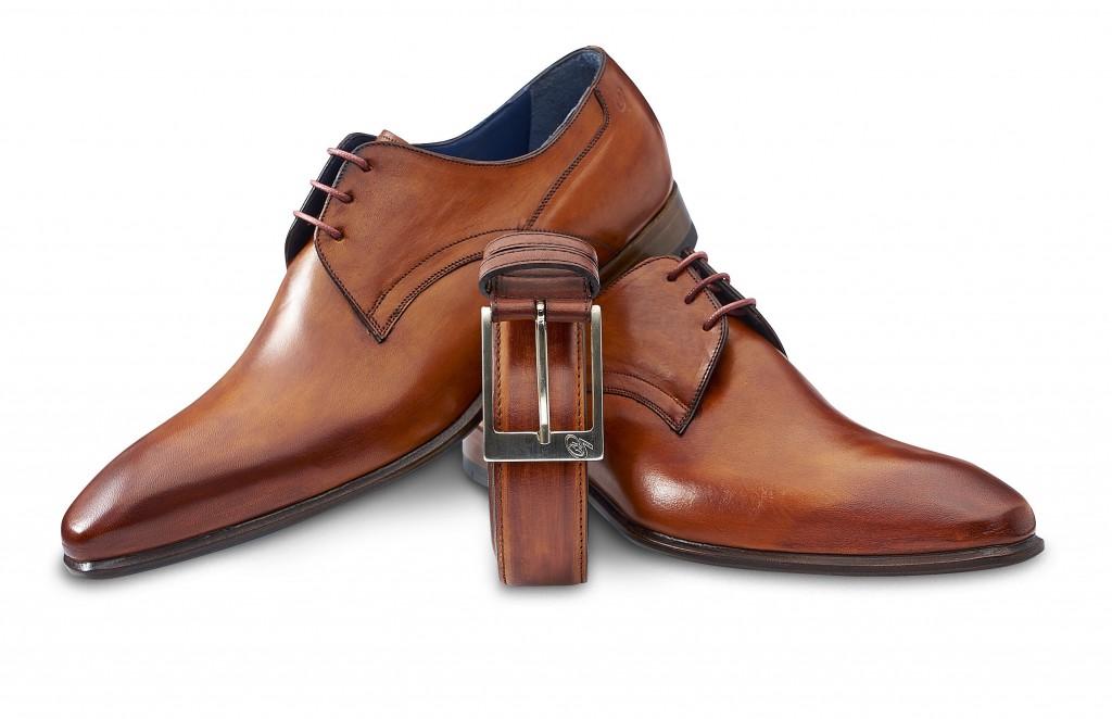 Skórzane buty męskie