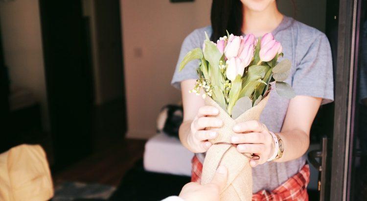 kwiaty prezent